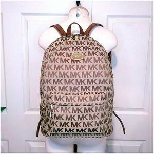 Michael Kors Large Signature Backpack